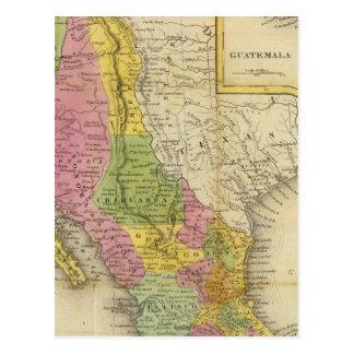 Carte Postale Le Mexique et le Guatemala 2