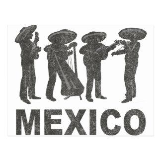 Carte Postale Le Mexique vintage