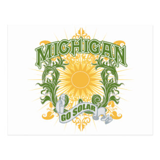 Carte Postale Le Michigan solaire
