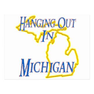 Carte Postale Le Michigan - traînant
