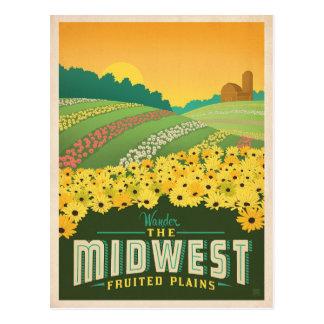 Carte Postale Le Midwest | Etats-Unis