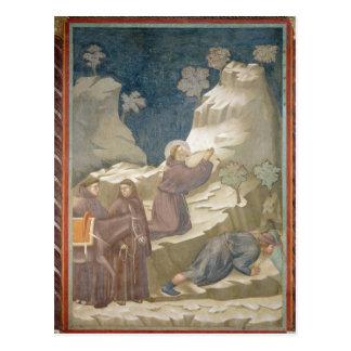 Carte Postale Le miracle du ressort, 1297-99