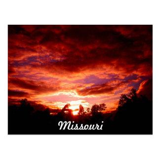 Carte Postale Le Missouri