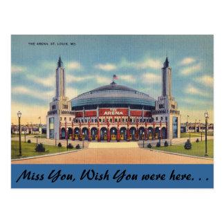 Carte Postale Le Missouri, l'arène, St Louis