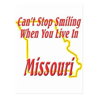 Carte Postale Le Missouri - souriant