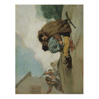 Carte Postale Le moine Pedro de Francisco de Goya y Lucientes
