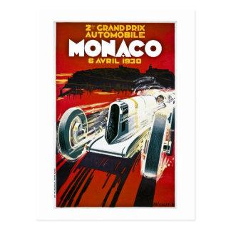 Carte Postale Le Monaco Grand prix 1930