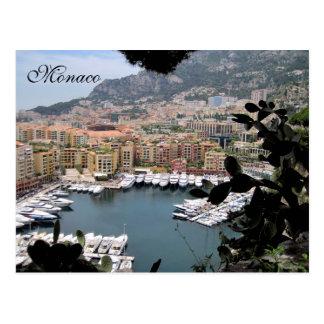 Carte Postale Le Monaco, la Côte d'Azur, France