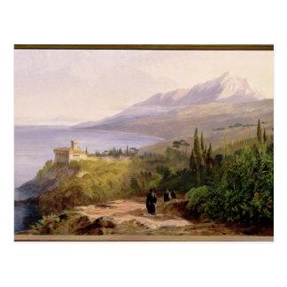 Carte Postale Le mont Athos et le monastère de Stavroniketes, 18