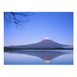 Carte Postale Le mont Fuji du lac Motosu, Yamanashi, Japon