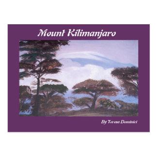 Carte Postale Le mont Kilimandjaro