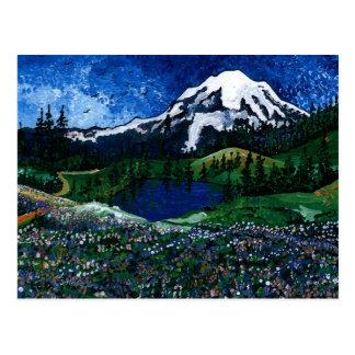 Carte Postale Le mont Rainier
