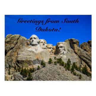 Carte Postale Le mont Rushmore, le Dakota du Sud