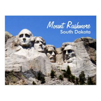 Carte Postale Le mont Rushmore le Dakota du Sud