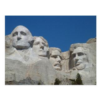 Carte Postale Le mont Rushmore Poscard