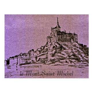 Carte Postale le Mont-Saint-Michel