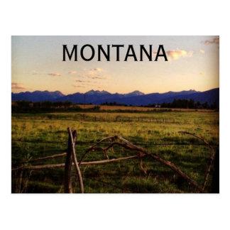 Carte Postale Le Montana