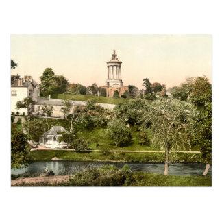 Carte Postale Le monument de la brûlure, Ayr, Ayrshire, Ecosse