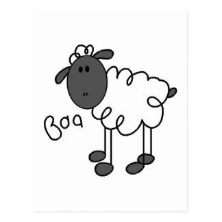 Carte Postale Le mouton indique des T-shirts et des cadeaux de