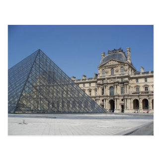 Carte Postale Le musée de Louvre