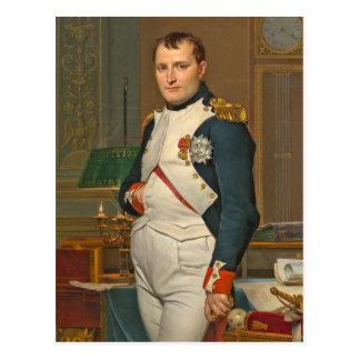 Carte Postale Le napoléon d'empereur dans son étude chez le