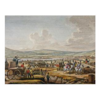 Carte Postale Le napoléon visitant le siège fonctionne à Danzig