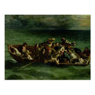 Carte Postale Le naufrage de Don Juan, 1840