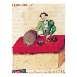 Carte Postale Le négociant de noix de coco du 'Tractatus De