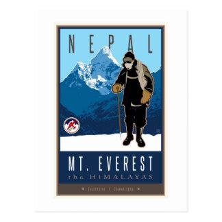 Carte Postale Le Népal