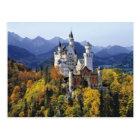 Carte Postale Le Neuschwanstein de fantaisie est l'un de trois