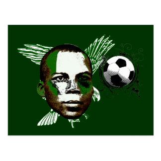 Carte Postale Le Nigéria Eagles Angola 2010 cadeaux de fans