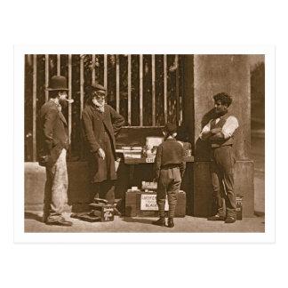 Carte Postale Le noir de chaussure dramatique, 1876-77