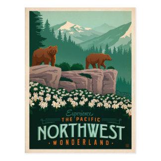 Carte Postale Le nord-ouest Pacifique | Etats-Unis