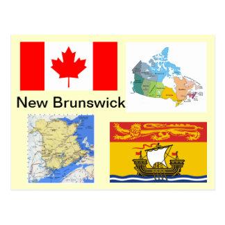 Carte Postale Le Nouveau Brunswick Canada