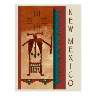 Carte Postale Le Nouveau Mexique