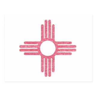 Carte Postale Le Nouveau Mexique fané
