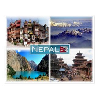 Carte Postale Le NP Népal -