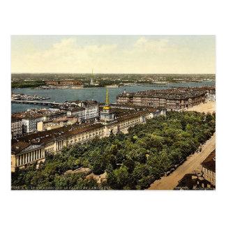Carte Postale Le palais d'Amirauté, classe de St Petersburg,