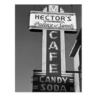 Carte Postale Le palais de Hector des bonbons, les années 1930