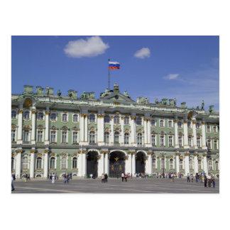 Carte Postale Le palais d'hiver, St Petersburg, Russie (RF)