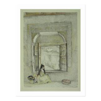 Carte Postale Le palais du Generalife, de la maison de Cha