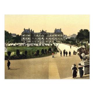 Carte Postale Le palais du luxembourgeois, photo de classique de