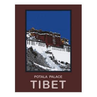 Carte Postale Le Palais du Potala Lhasa Thibet