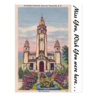 Carte Postale Le Panthéon, Caracas, Venezuela
