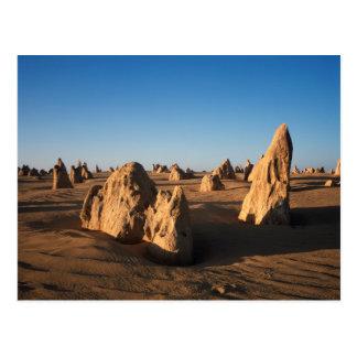 Carte Postale Le parc national de Nambung de désert de sommets