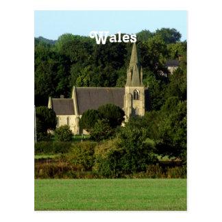 Carte Postale Le Pays de Galles