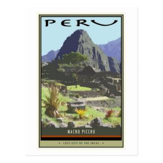 Carte Postale Le Pérou