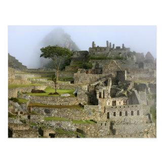 Carte Postale Le Pérou, Machu Picchu. La citadelle antique de