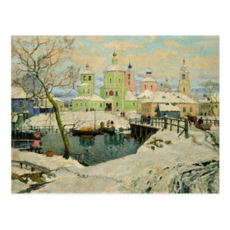 Carte Postale Le petit village Torzhok, 1917