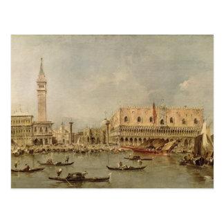 Carte Postale Le Piazzetta et le Palazzo Ducale